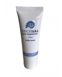 Zechsal hair & body wash, 50 ml. Reisverpakking.