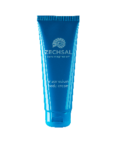 Zechsal magnesium bodycream, 125 ml. Geeft de huid rust.