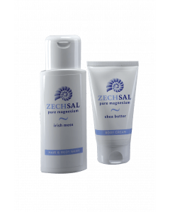 Zechsal huid & haar, bodycream en hair & body wash