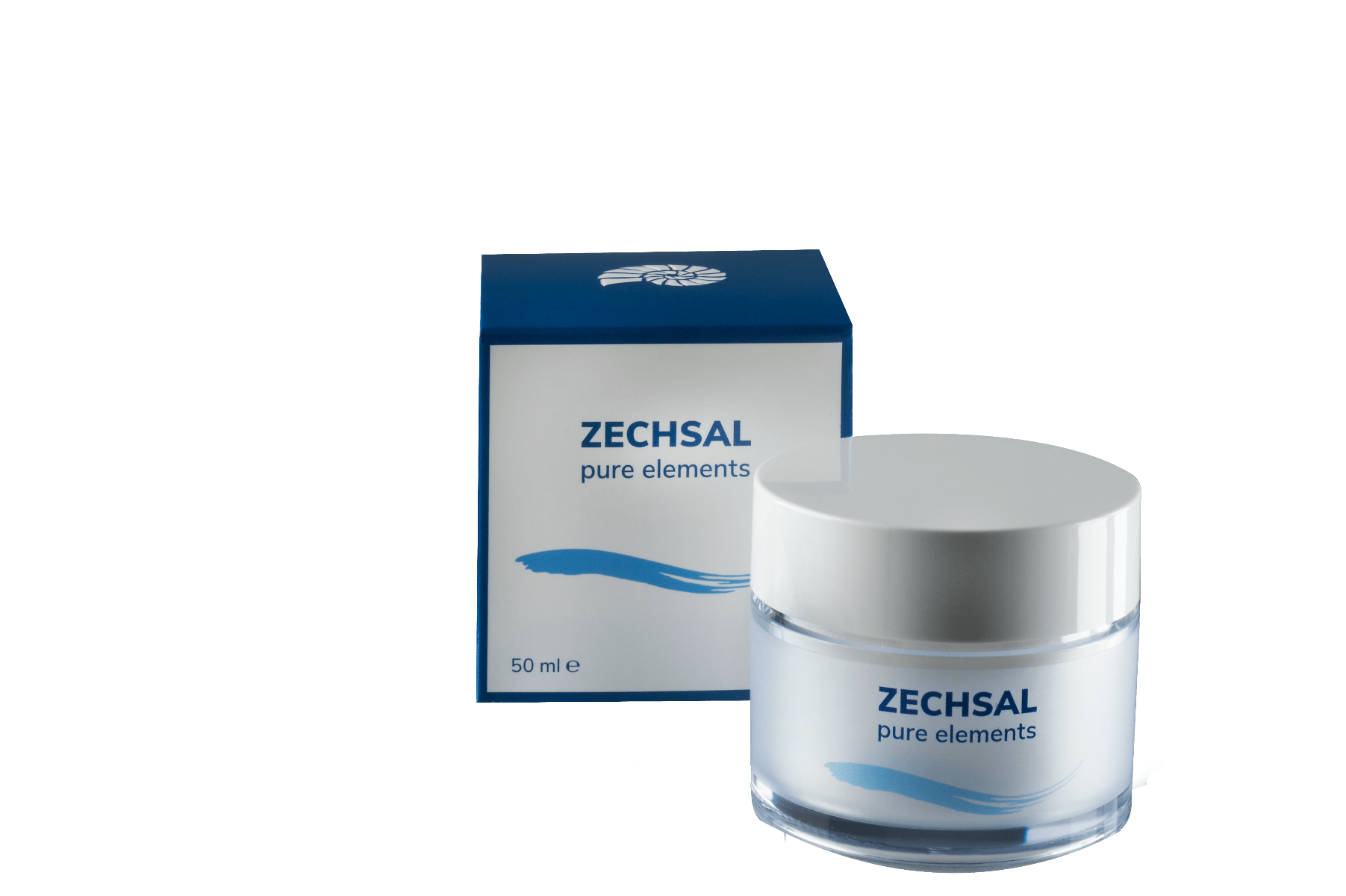 NIEUW! Zechsal Pure Elements balancing cream, 50 ml.